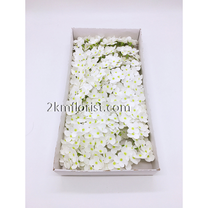 36pcs 9-Fork Hydrangea Soap Flower With BASE BARE