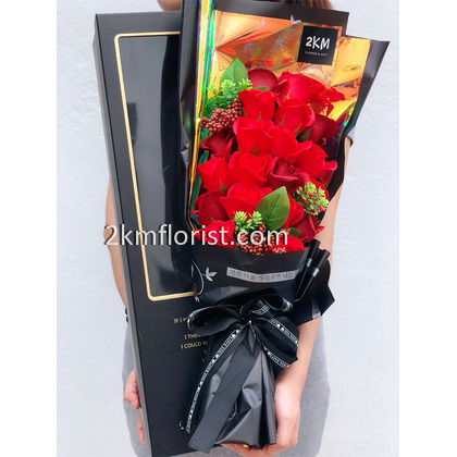 19pcs Premium Rose Bouquet