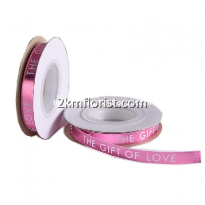 (10M) 1CM THE GIFT OF LOVE RIbbon