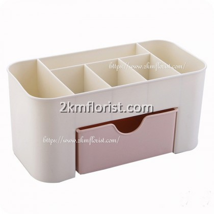 6 SLOT Cosmetic Make Up Desk Table